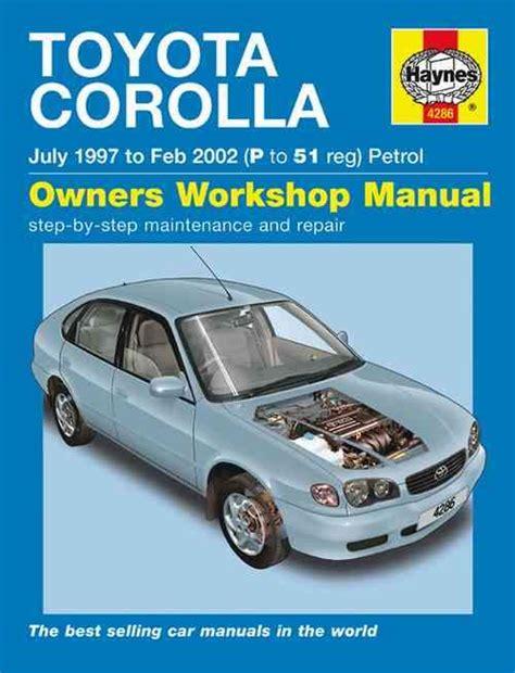 manual repair autos 2002 toyota corolla parental controls toyota corolla ae112r 1997 2002 haynes owners service repair manual 1844252868