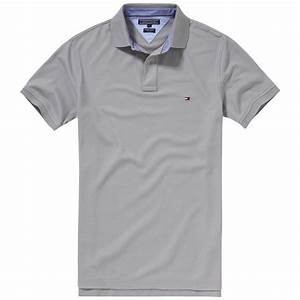 Lyst - Tommy hilfiger Performance Polo Shirt in Gray for Men