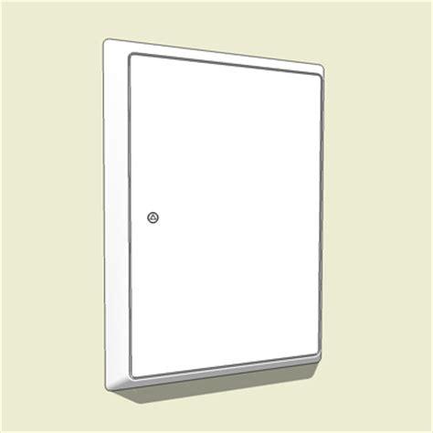 Electric Meter Cupboard by Uk Meter Cupboard 3d Model Formfonts 3d Models Textures