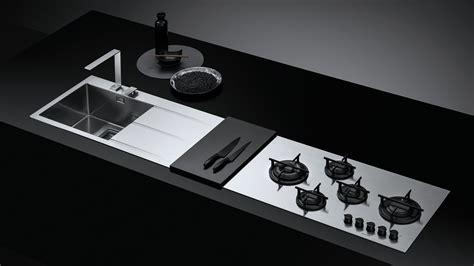 piano cottura barazza fusion piano d acciaio ad incasso per cucine componibili