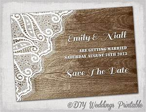 rustic save the date template printable diy wood With rustic save the date templates free