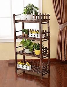Etagere Pour Fleur : jardin plancher bois ~ Zukunftsfamilie.com Idées de Décoration