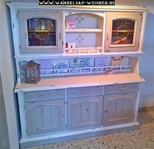 Alte Möbel Streichen Shabby Chic : esszimmerschrank buffet shabby chic selber machen diy ~ Watch28wear.com Haus und Dekorationen