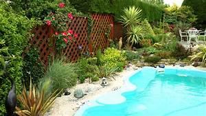 galerie jardin nature paysagiste toulouse 31 With amenagement autour de la piscine 6 galerie photos tour de piscine jardin mineral bassin