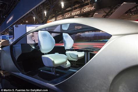 Panasonic's Futuristic Concept For Driverless Cars