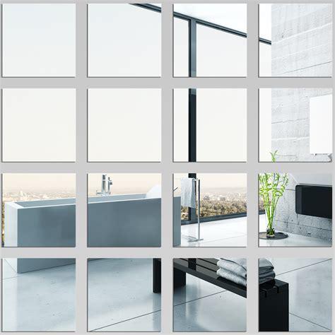 kit miroir plexiglass acrylique carr 233 s pas cher
