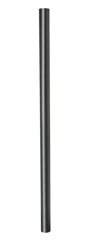 model home interior black pole for post lantern