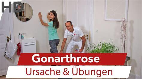 gonarthrose ursache uebungen bei kniearthrose youtube