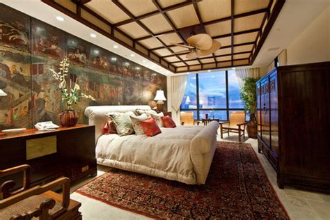 New Chinese Style Double Bedroom