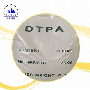 China Dtpa 99  Diethylenetriaminepentaacetic Acid