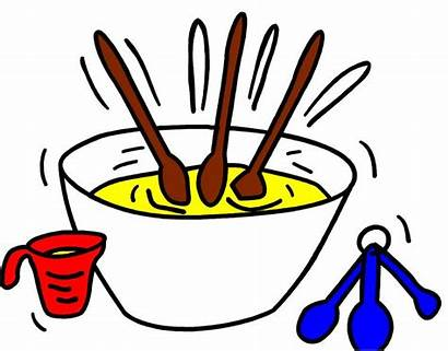 Clipart Recipe Clip Recipes Ingredients Christmas Mixing