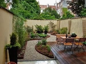 amnagement jardin en longueur jardin avant les travaux With amazing comment amenager un jardin tout en longueur 0 amenagement jardin en longueur