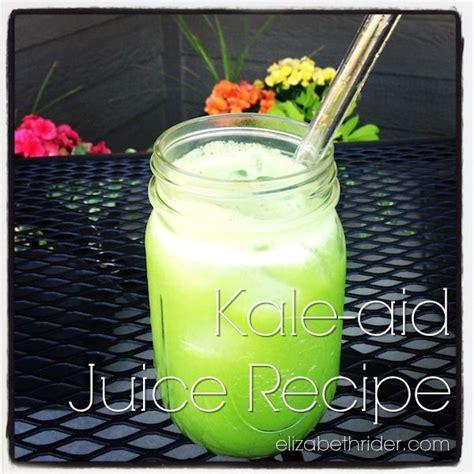 kale juice recipe recipes aid celery ever body elizabethrider juicer benefits lemonade spin might thing refreshing crisp oh put juicing