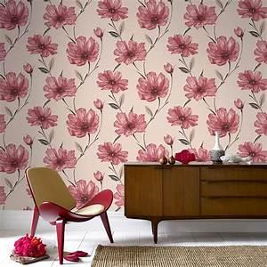 Graham & Brown Spirit Red Wallpaper