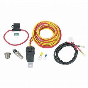 Spal Cooling Fan Relay Kit  U0026 Harness  On At 185   Off At