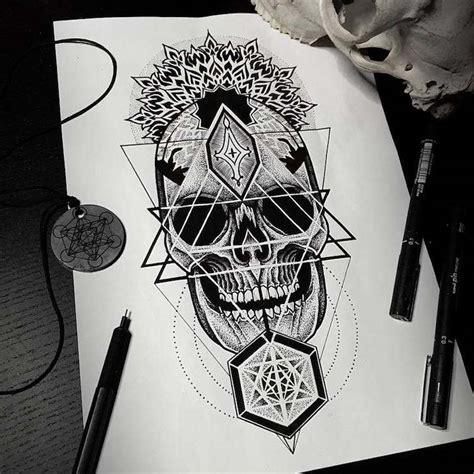 Tatouage Tête De Mort Original 40+ Idées «memento Mori