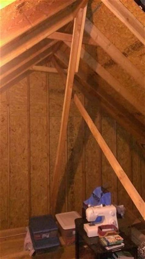 Finishing Attic, Question about bracing   DoItYourself.com