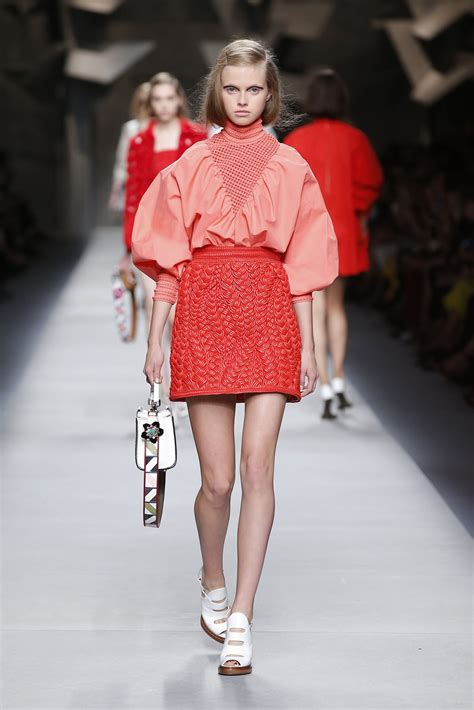 fendi spring summer 2016 women s collection the beep