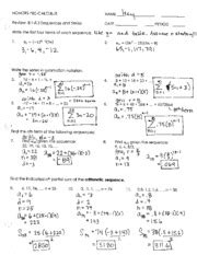 51 arithmetic sequences and series worksheet worksheets arithmetic sequence worksheet algebra 1
