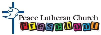 peace lutheran church preschool coon rapids mn child 617 | logo preschool logo