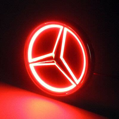 You can order from www.ksgtuning.comwww.ksgtuning.com. 5D LED Car Tail Logo Red Light Badge Emblem Light For Mercedes-Benz S350 S300L   eBay