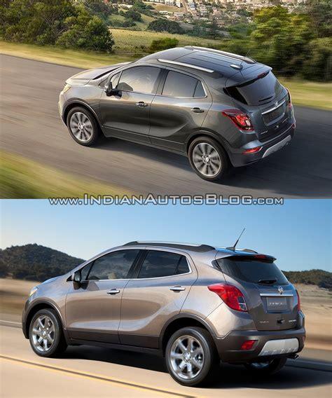 Buick Encore Size Comparison by 2017 Buick Encore Vs 2013 Buick Encore Rear Three Quarters