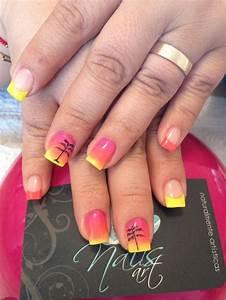 Nails art, acrylic nails, summer nails | nails | Pinterest
