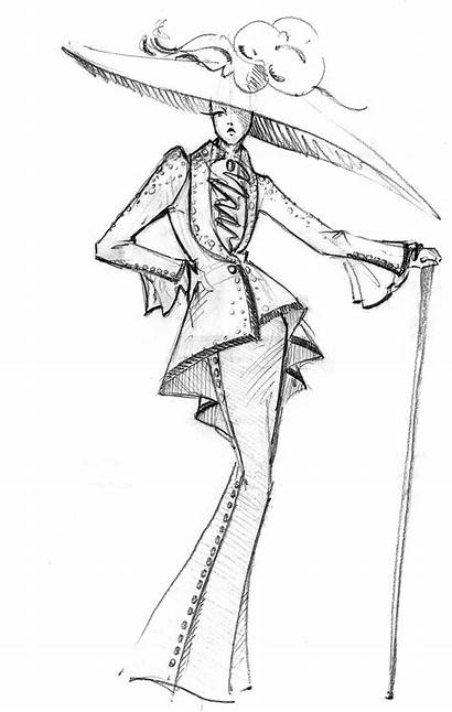 Dior Sketches Croquis Illustration Drawing Illustrations Sketch