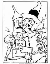 Wizard Oz Coloring Witch Wicked Drawing Scarecrow Colouring Sheets Tin Being Dorothy Christmas Lion Mago Land Different Shows Getdrawings Coloriage sketch template