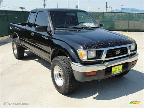 Toyota Tacoma 1997 by 1997 Black Metallic Toyota Tacoma Extended Cab 4x4
