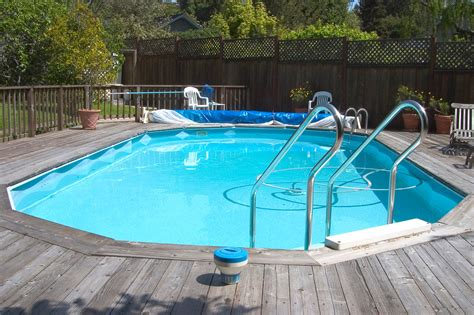 above ground oval pool deck pictures above ground oval pool deck plans pools backyards
