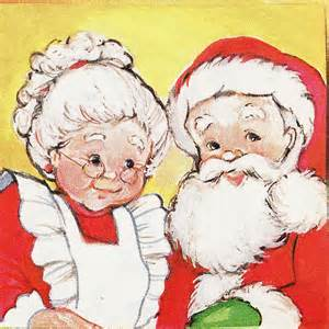mr mrs claus detail of a sticker from quot the elves c flickr photo sharing