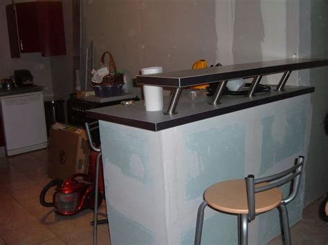 faire un bar de cuisine la cuisine la construction de notre maison