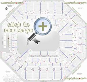 At T Center Seating Chart At T Center Seat Row Numbers Detailed Seating Chart San