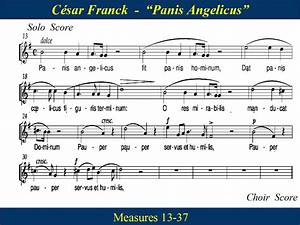 Panis Angelicus - Franck - Solo & Choir - Soprano   Music ...