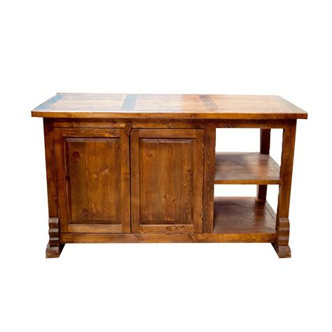 purchase kitchen island purchase rustic kitchen island with double doors and shelves for decorative items online