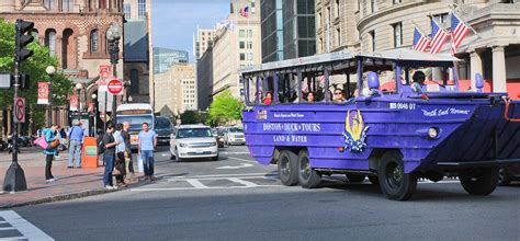 Duck Boat Tours Of Boston by End Norma In Copley Square