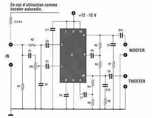 Schema Amplifier 20 Watts Bf 2 Way Circuit Schematic With