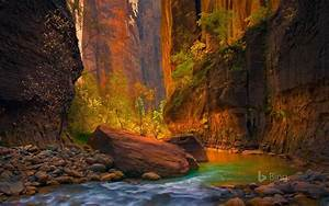 utah the river in zion national park 2016