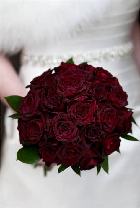 dark red rose wedding bouquet bridal bouquets