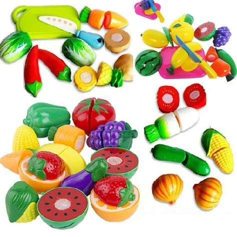 Best Play Food Kid Children Plastic Vegetable Fruit Toy