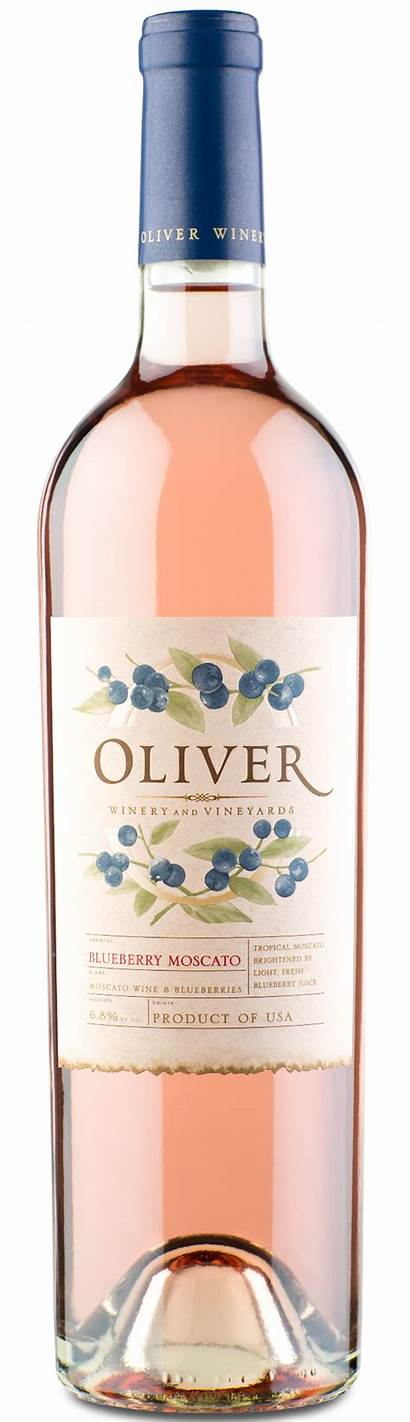 Oliver Moscato Blueberry Winery Wine Sweet Cherry