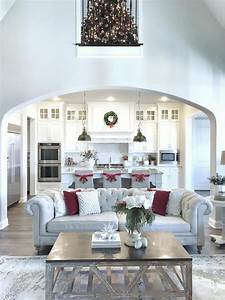 category christmas decorating ideas home bunch With kitchen colors with white cabinets with silver reindeer candle holders