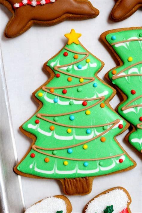 christmas tree  cookies recipe dishmaps