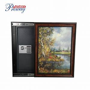 China High Security Electronic Wall Safe With Picture
