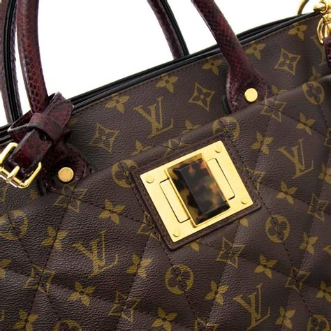 louis vuitton monogram etoile exotique gm tote bag  stdibs