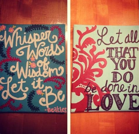 Do it yourself quotes on canvas solutioingenieria Images