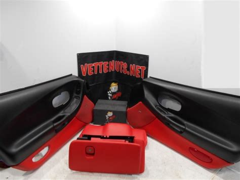 corvette mod red interior package