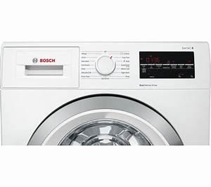 Bosch Waschtrockner Serie 6 : buy bosch serie 6 wat28450gb 9 kg 1400 spin washing machine white free delivery currys ~ Frokenaadalensverden.com Haus und Dekorationen