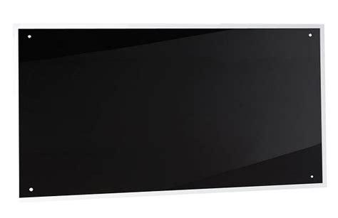 100cm Black Glass Splashback